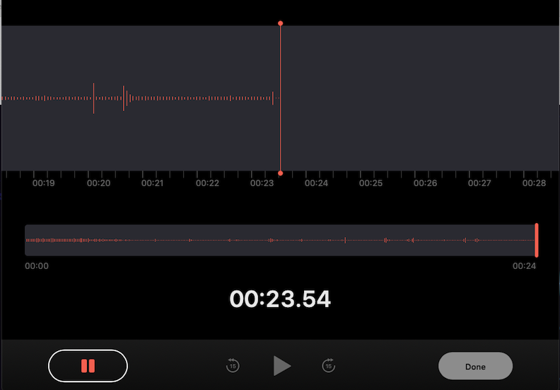 Voicememo audio HD manager recorder for MacBook Air built-in