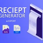 Online Receipt Maker & Bill Generator App