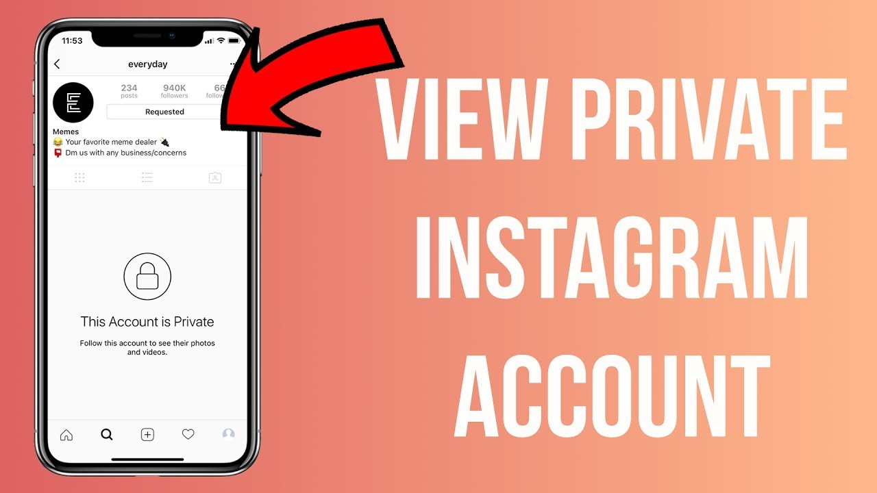 view private instagram How to view someones private