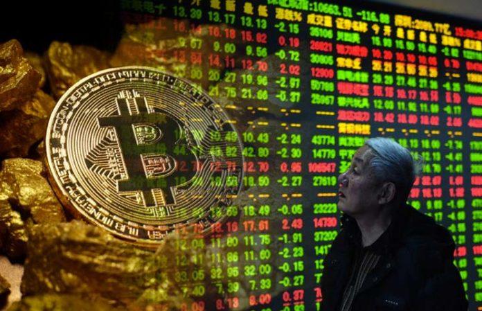Stock market and bitcoin