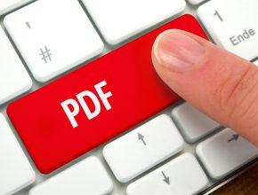 Searching a PDF