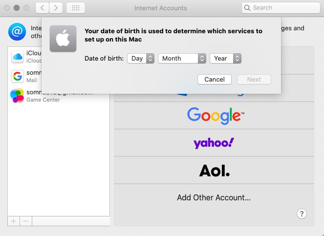 recover Apple ID password