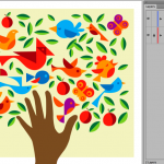 how to crop in illustrator?