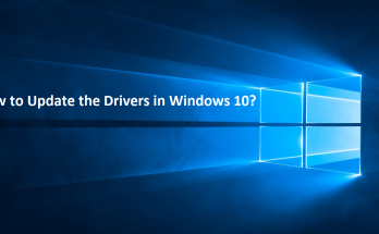 How to Update the Drivers in Windows 10?