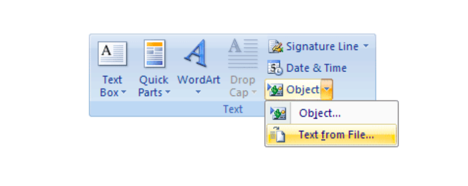 insert pdf in docx