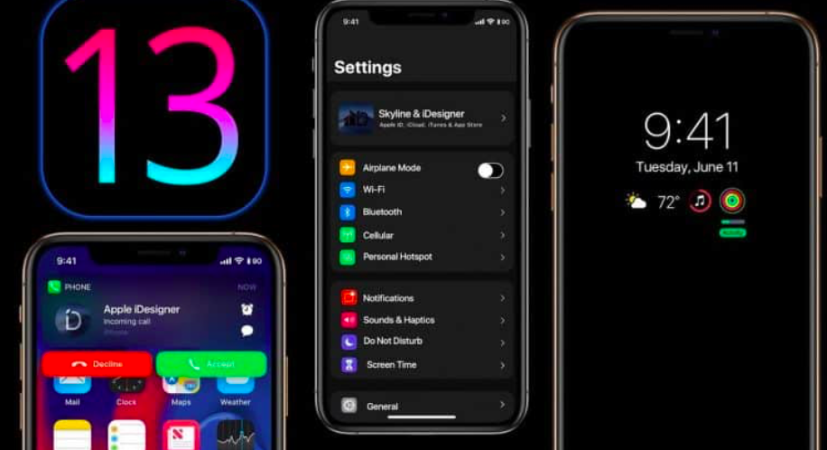 iOS 13 for iPhone six